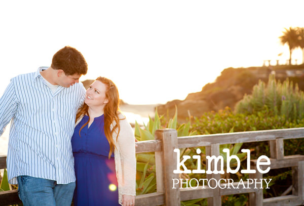 adorable Laguna Beach engagement session
