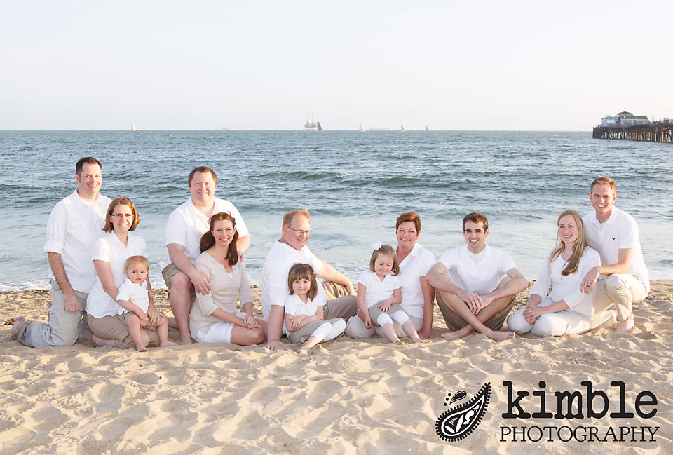{The Bennion Family} Seal Beach Family Portraits
