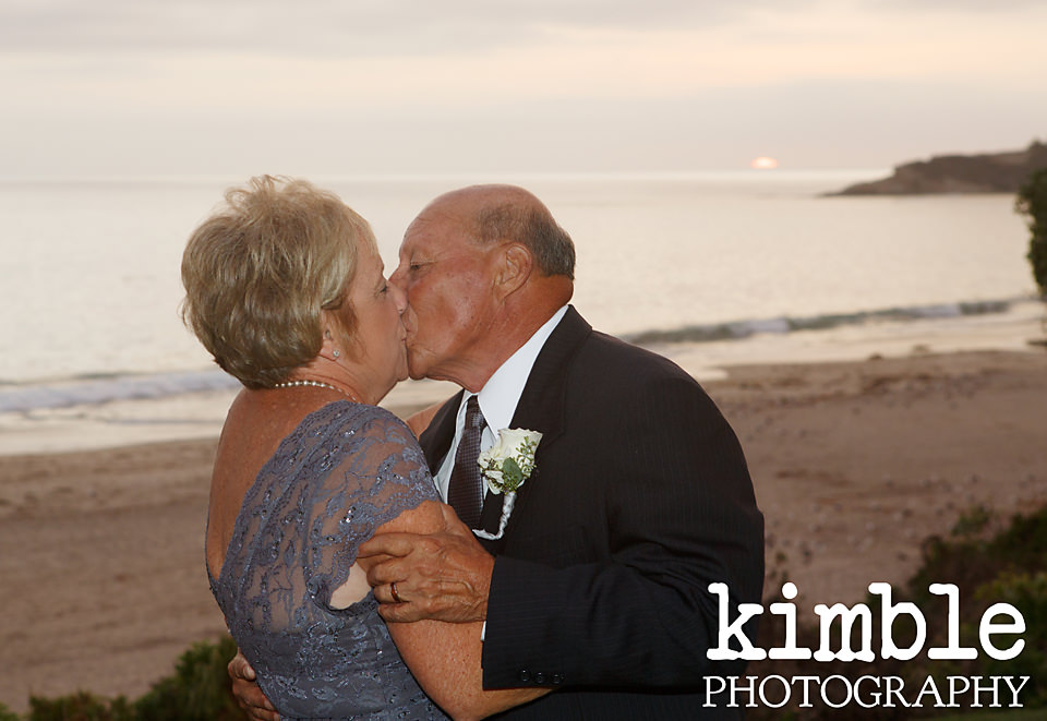 Incredible vow renewal at Monarch Beach Resort