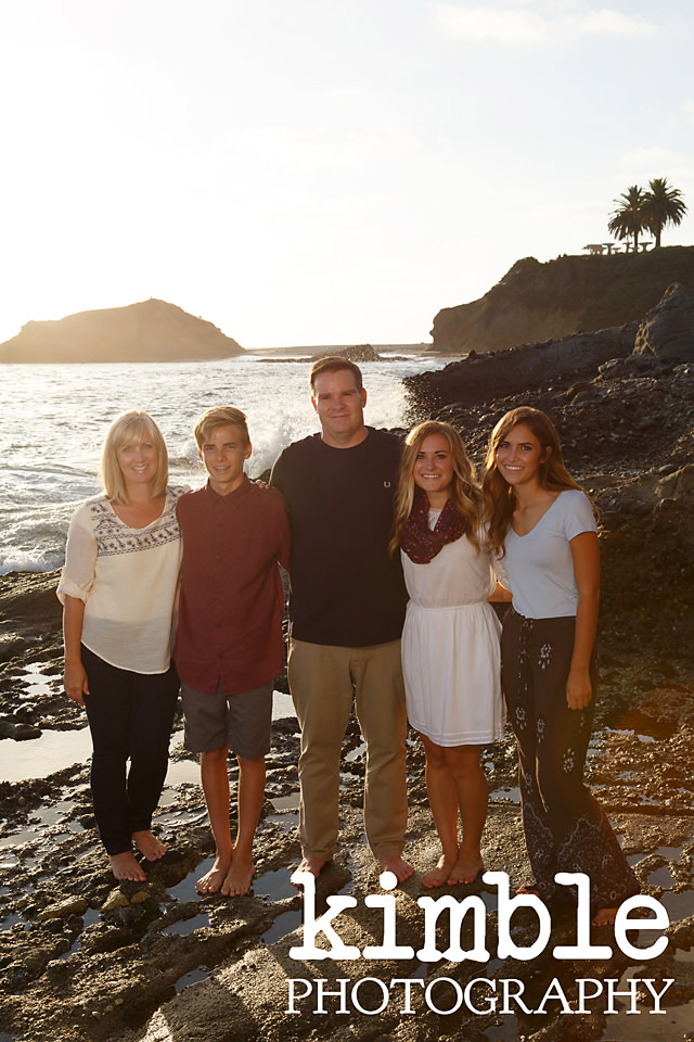 The Clarke Family {Laguna Beach Family Portraits}