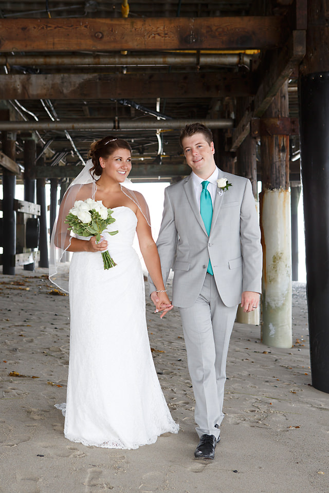 Mr. & Mrs. Vago {St. Regis & San Clemente Pier Wedding}