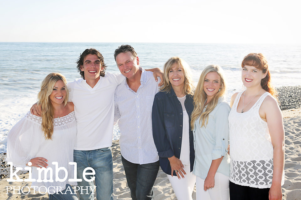 The Pushor Family {Capo Beach Portraits}