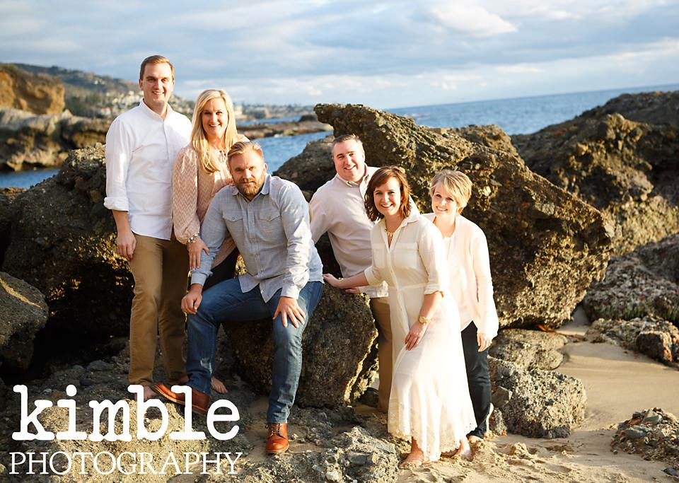 beautiful family photos in laguna beach