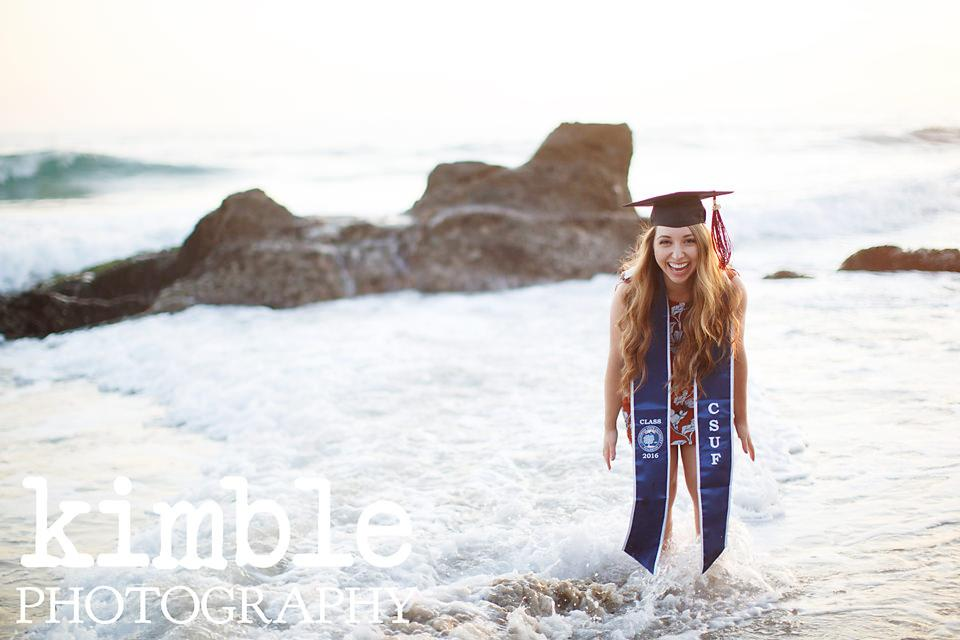 Dazzling Laguna Beach Graduation Portraits