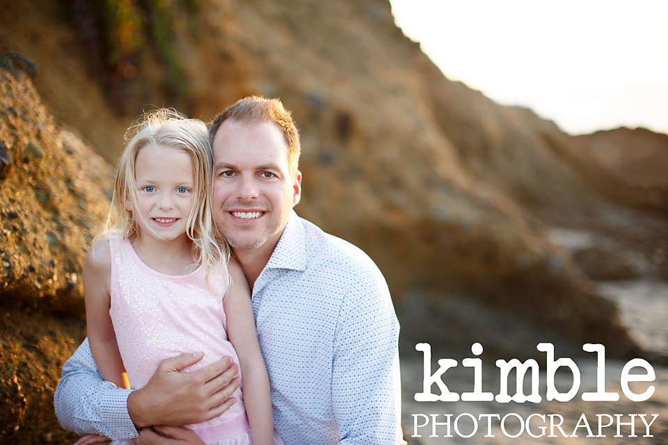 Cute Laguna Beach Family Portraits