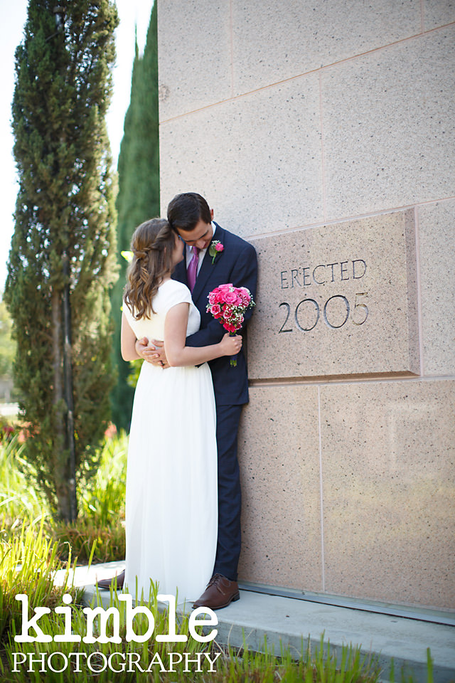 Newport Beach LDS Temple Wedding by Kimble Photography
