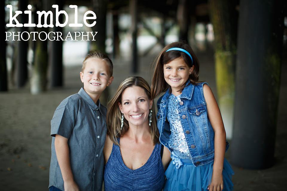 San Clemente Pier Family Portraits