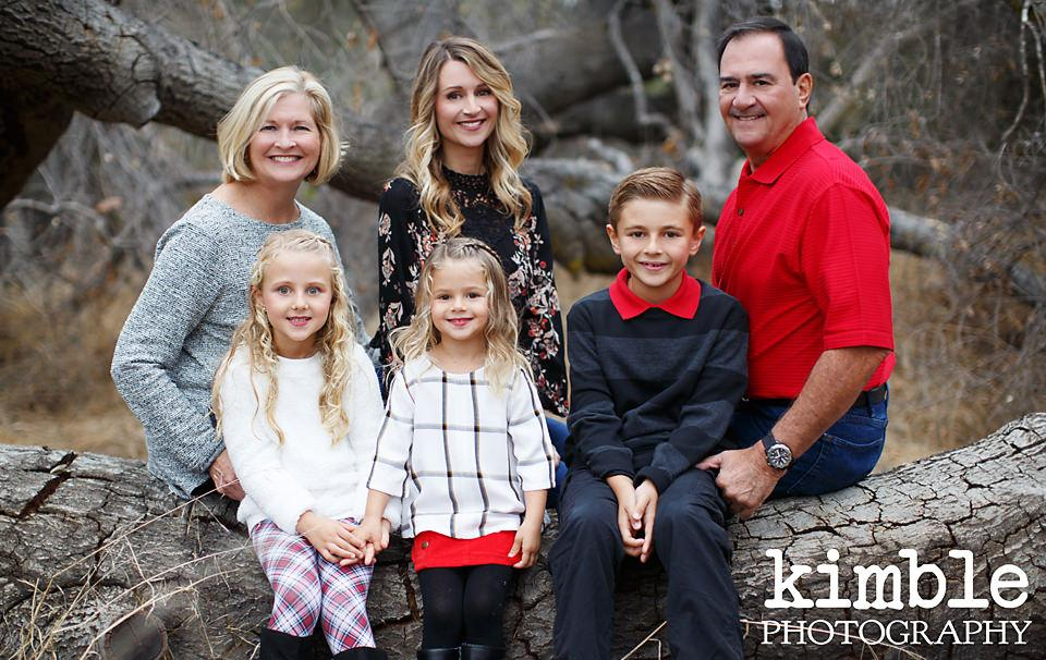 Traditional Orange County Family Portraits