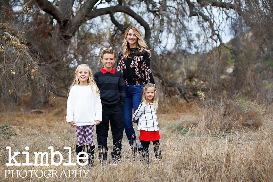 Traditional Orange County Family Portraits