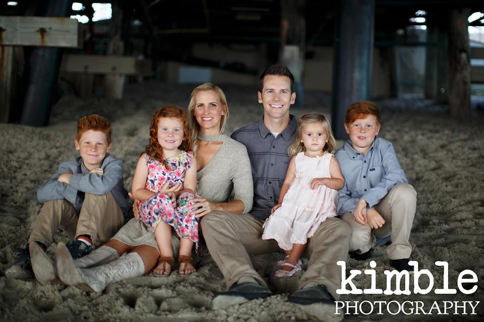 Orange County Photographers Under the Pier Family Pictures