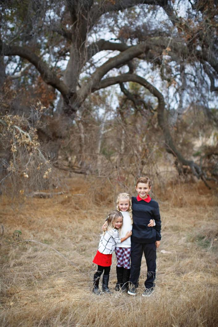 Traditional Orange County Family Portraits by Kimble Photography